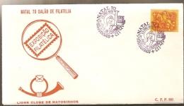 Portugal & FDC Lions Club Matosinhos, Hall Philately, 1970 Christmas Matosinhos 1970 (765) - FDC