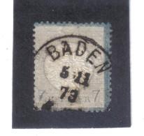XAX346  DEUTSCHES REICH 1872  MICHL 26  10 % KATALOG Siehe ABBILDUNG - Deutschland