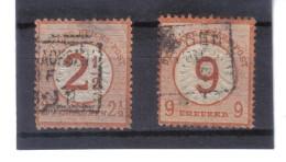 XAX347  DEUTSCHES REICH 1874  MICHL 29/30 Siehe ABBILDUNG - Deutschland