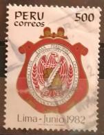 PERÚ 1982. 16º Congreso Del Notariado Latino. Lima. USADO - USED. - Peru