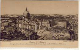 ROMA - San PIETRO - ,  Weeser-Krell Fec - San Pietro