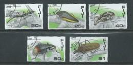 Fiji 1987 Beetles & Insects Set 5 FU - Fiji (1970-...)