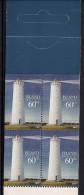 2002 Island Mi. 1007-8 MH **MNH Leuchttürme Auf Island - Markenheftchen