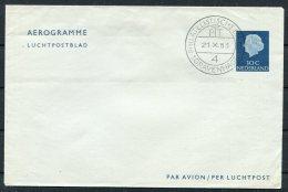 1953 Netherlands 30c Aerogramme - Postal Stationery