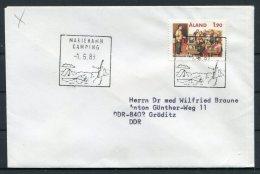 1988 Aland Mariehamn Camping Cover - Aland