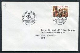 1989 Aland Eckero Tullhuset Cover - Aland