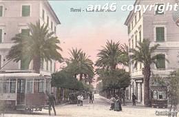 NERVI-GE-VIALE DELLE PALME-VIAGGIATA IL 9/2/1919-OTTIMA CONSERVAZIONE-2 SCAN - Genova (Genoa)