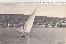 SANTA MARGHERITA-GE-DAL MOLO-VIAGGIATA IL 25/6/1923-OTTIMA CONSERVAZIONE-2 SCAN - Genova (Genoa)