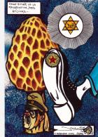 CPM HITLER Juif Judaïca Masonic Franc-Maçon Champignon Muschroom Caricature Tirage Limité Llustrateur JIHEL / LARDIE - Lardie