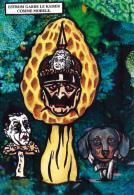 CPM Kaiser Guillaume II ESTROSI Champignon Mushroom Morille Teckel Dackel Tirage Limité JIHEL / LARDIE - Lardie