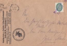 DR Dienst Brief EF Minr.116 Stempel Entwertet Berlin - Dienstpost