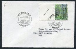 1990 Aland Mariehamn Camping Cover - Aland