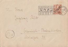 Berlin Brief EF Minr.9 Luftbrückenstempel 5.10.48 - Berlin (West)