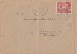 SBZ Brief EF Minr.229 Radebeul 9.5.49 Mit Propagandastempel Dein Ja Am 15. Und 16.5. - Zone Soviétique