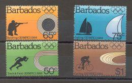 Barbados - 1984 Los Angeles MNH__(TH-16667) - Barbados (1966-...)