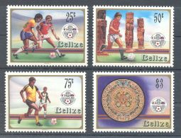Belize - 1986 Football World Cup MNH__(TH-2297) - Belize (1973-...)