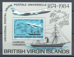 British Virgin Islands - 1984 Universal Postal Congress Block MNH__(TH-13238) - British Virgin Islands