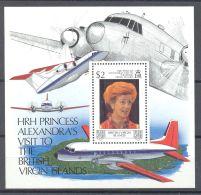 British Virgin Islands - 1988 Princess Of Kent In The Virgin Islands Block MNH__(TH-2273) - British Virgin Islands