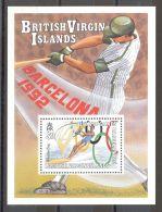 British Virgin Islands - 1990 Barcelona Block MNH__(TH-16539) - British Virgin Islands