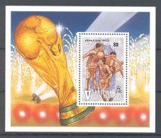 British Virgin Islands - 1990 FIFA World Cup Block MNH__(TH-16541) - British Virgin Islands