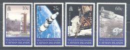 Cayman Islands - 1999 Moon Landing MNH__(TH-9910) - Kaaiman Eilanden
