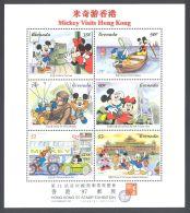 Grenada - 1997 Disney Hong Kong Kleinbogen (1) MNH__(THB-75) - Grenada (1974-...)