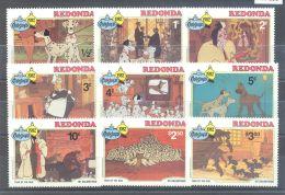 Redonda - 1982 101 Dalmatians MNH__(TH-7985) - Antigua En Barbuda (1981-...)