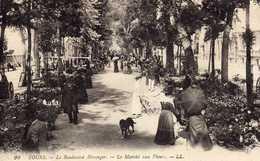 Tours - Le Boulevard Béranger – Le Marché Aux Fleurs - Markets