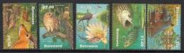2000 Botswana Wetlands Fauna Hippo Owl  Complete Set Of 4 MNH - Botswana (1966-...)