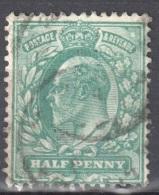 Great Britain 1902 - King Edward VII ½d - Mi. 102 - Used - 1902-1951 (Re)
