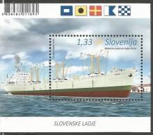 "SI 2016-12 SHIPS ""PIRAN"", SLOVENIA, S/S, MNH - Schiffe"