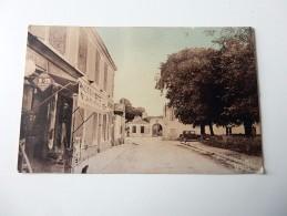 Carte Postale Ancienne : ILE D´OLERON : SAINT-DENIS: Au Fond, Maison Guillotin, Inventeur De La Guillotine, Animé - Ile D'Oléron
