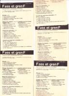 Armée Suisse - Aide Mémoire Fusil Assaut 57 + Grenade 58 - Autres Collections