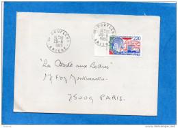 """Lettre- De COUFFLENS-Ariège--cad 29 Juin 1989-""""dernier Jour Du Bureau De Poste"""" - Marcophilie (Lettres)"""