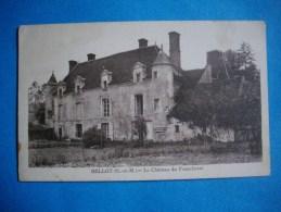 BELLOT  -  77  -  Le Château De Fourcheret  -  Seine Et Marne - Frankreich