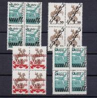 Kazakhstan Mint (**) 1992 Set Stamp Middle Asia OVERPRINT RARE - Kazajstán