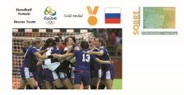 Spain 2016 - Olympic Games Rio 2016 - Gold Medal Handball Female Russia Cover - Juegos Olímpicos
