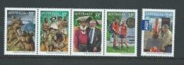 Australia 2010 Kokoda Trail WWII Anniversary PNG Joint Issue Set 5 MNH - 2000-09 Elizabeth II