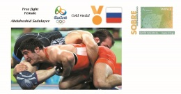 Spain 2016 - Olympic Games Rio 2016 - Gold Medal Free Fight Male Russia Cover - Juegos Olímpicos