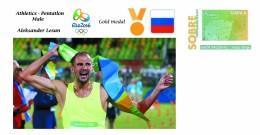 Spain 2016 - Olympic Games Rio 2016 - Gold Medal Pentatlon Male Russia Cover - Juegos Olímpicos