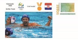 Spain 2016 - Olympic Games Rio 2016 - Gold Medal Waterpolo Male Serbia Cover - Juegos Olímpicos
