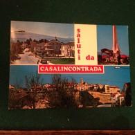Cartolina Saluti Da Casalincontrada Chieti  Viaggiata 1977 - Chieti