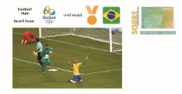 Spain 2016 - Olympic Games Rio 2016 - Gold Medal Football Male Brazil Cover - Juegos Olímpicos
