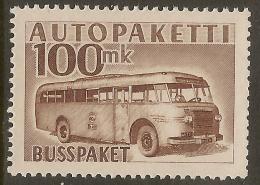 FINLAND 1952 100m Parcel Post SG P510 HM #VS63