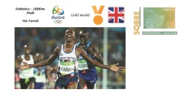 Spain 2016 - Olympic Games Rio 2016 - Gold Medal - Athletics Male Great Britain Cover - Juegos Olímpicos