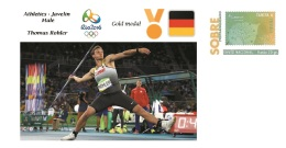 Spain 2016 - Olympic Games Rio 2016 - Gold Medal - Javelin Male Germany Cover - Juegos Olímpicos