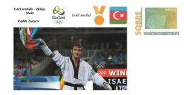 Spain 2016 - Olympic Games Rio 2016 - Gold Medal - Taekwondo Male Azerbaijan Cover - Juegos Olímpicos