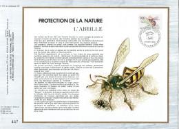 "FRANCE 1979 : Feuillet CEF 1er Jour N°té N° 493 "" ABEILLE "". N° YT 2039 - Bienen"