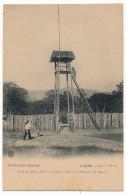 CPA - LAOS - Poste De Milice Dans La Brousse A HIN-LAT (Province De Bassac) - Collection Raquez - Très Bel Etat - Laos