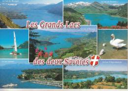 Les Grands Lacs Des 2 Savoies (73-74)  Splendide Carte Multi-vues - France